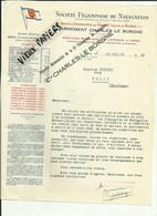 69 - Rhone - Lyon- Facture- Sté.Fécampoise De Navigation - Transport Par Eau - Bateaux - Péniches - Frets -1935- Réf.59. - 1900 – 1949