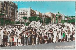 CPSM Alger El Djezair La 1ère Fête Nationale Après L'indépendance La Foule Boulevard Laferrière Jomone 3081 - Algeri