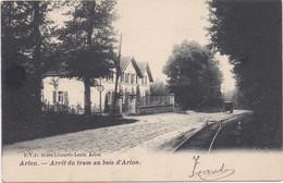 ARLON - AARLEN - 1900-1905 - Arret Du Tram Au Bois D' Arlon - Arlon