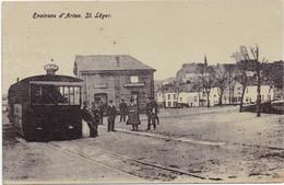 ARLON - AARLEN - 1909 - Environs D' Arlon - St. Léger - Tram Station Gare Statie - Arlon