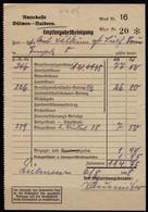 Empte Bei Buldern Dülmen 1938 Steuer Quittung Der Amtskasse   (6923 - Unclassified
