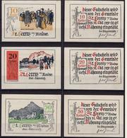 Österreich - Austria St. Lorenz 3 Stück Notgeld  Oberösterreich (12010 - Austria