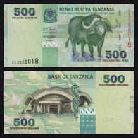 TANSANIA - TANZANIA 500 Shillings UNC Pick 35   (16389 - Other - Africa