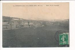 Carte LES ROUSSES Jura Et LA DOLE ( Peu Courante ) ( Recto Verso ) - Sonstige Gemeinden