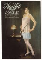 Twilfit Corset Corselet Advertising Lingerie Postcard - Reclame
