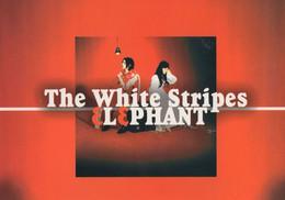 The White Stripes Elephant New LP CD Advertising Rare Postcard - Werbepostkarten