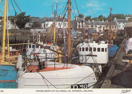 Fishing Boats At Killybegs County Donegal Irish 1970s Postcard - Ohne Zuordnung