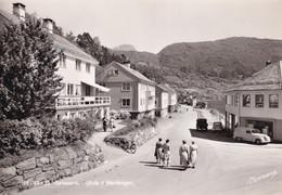 Hardanger Gateparti Norway Bicycle Real Photo Postcard - Norwegen