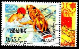 France Poste Obl Yv:4224 Mi:4450 JO Beijing (Lign.Ondulées) - Gebruikt