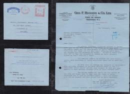 Trinidad 1962 Meter Aerogramme Air Letter PORT OF SPAIN To LIVERPOOL England Geo. F. Huggins - Trinidad & Tobago (1962-...)