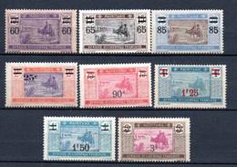 W-9 Mauritanie  Surcharges  ** (gomme Coloniale)  A Saisir !!! - Neufs