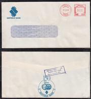 Trinidad 1988 Meter Cover 30c COUVA Local Use REPUBLIK BANK - Trinidad & Tobago (1962-...)