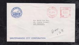 Trinidad 1994 Meter Cover 50c SAN FERNANDO Local Use CITY CORPORATION - Trinidad & Tobago (1962-...)