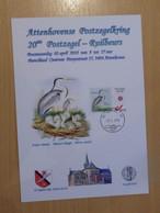 A.Buzin A5 Kaart 20ste Ruilbeurs Attenhoven - 1985-.. Vogels (Buzin)