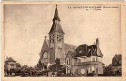 51al 1226 CPA - LE TOUQUET PARIS PLAGE - L' EGLISE - Le Touquet