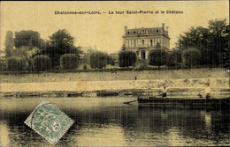 CPA Chalonnes Sur Loire Maine Et Loire, La Tour Saint Pierre Et Le Chateau - Otros Municipios