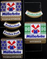 Bieretiketten Bieretikette Deutschland Pfaffenhofen Müller #ZI - Cerveza
