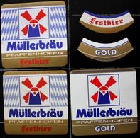 Bieretiketten Bieretikette Deutschland Pfaffenhofen Müller #ZJ - Cerveza
