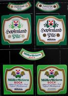 Bieretiketten Bieretikette Deutschland Pfaffenhofen Müller #ZO - Cerveza