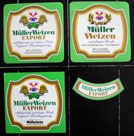 Bieretiketten Bieretikette Deutschland Pfaffenhofen Müller #ZP - Cerveza