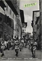 Toscana-arezzo Giostra Del Saracino Sfilata Degli Armati Animatissima Veduta - Arezzo