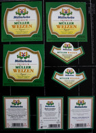 Bieretiketten Bieretikette Deutschland Pfaffenhofen Müller #ZY - Cerveza