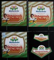Bieretiketten Bieretikette Deutschland Pfaffenhofen Müller #ZZ - Cerveza