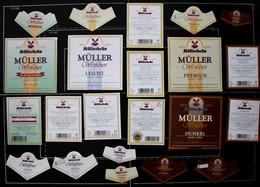 Bieretiketten Bieretikette Deutschland Pfaffenhofen Müller #ZZL - Cerveza