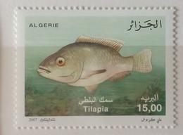 DE22 - Algeria 2007 MNH Stamp Fish Tilapia - Algeria (1962-...)