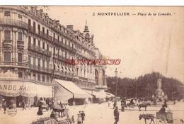 CPA MONTPELLIER - PLACE DE LA COMEDIE - Montpellier