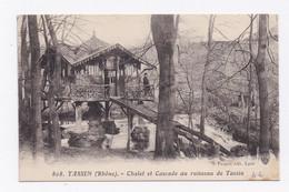 CP416 - TASSIN - CHALET ET CASCADE AU RUISSEAU DE TASSIN - Andere Gemeenten