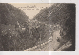CPA-65-Hautes Pyrénées- Route De PIERREFITTE à LUZ Aux Mines De Chèze- - Luz Saint Sauveur