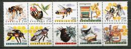 Schweden Sweden Sverige Mi# 1609-18 Postfrisch/MNH - Fauna Beekeeping - Ungebraucht