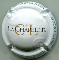 CAPSULE-CHAMPAGNE CL DE LA CHAPELLE N°26 Gris Clair BRUT EXQUIS - Clos De La Chapelle