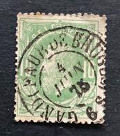 Leopold II OBP 30 - 10c Gestempeld  DC GAND FAUB DE BRUGES - 1869-1883 Leopold II.