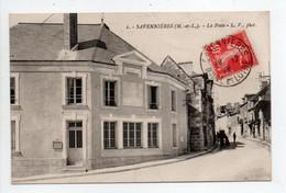 - CPA SAVENNIÈRES (49) - La Poste 1926 - Photo L. V. N° 1 - - Andere Gemeenten