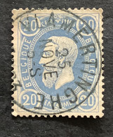 Leopold II OBP 31 - 20c Gestempeld  EC VLAMERTINGHE - 1869-1883 Leopold II