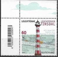 2021   Deutschland Germany Mi. 3615 **MNH  EOL  Leuchttürme  Leuchtfeuer Tinsda - Ungebraucht