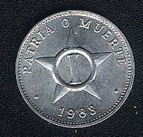 Kuba, 1 Centavo 1983, KM 33.2, UNC - Cuba
