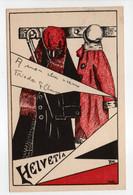 - CPA SUISSE - Dessin HELVETIA 1930 - Imp. JACCARD - - Unclassified