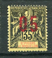 SPM- Yv. N° 100A Espacement 2mm **MNH   05 S 35c  Surchargés Cote 36 Euro  TBE   2 Scans - Unused Stamps