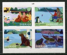 Schweden Sweden Sverige Mi# 2534-7 Postfrisch/MNH - Summer Activities, Fishing, Swimming, Picknik - Ungebraucht