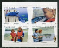 Schweden Sweden Sverige Mi# 2584-7 Postfrisch/MNH - Fishing - Ungebraucht