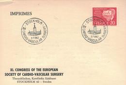 Stockholm 1962 - Cardio-vasculäre Chirurgie - Medicina