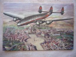 Avion / Airplane / TWA - TRANS WORLD AIRLINES / Constellation / Airline Issue - 1946-....: Era Moderna