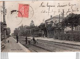 BORAN SUR OISE LA GARE 1904 TBE - Boran-sur-Oise