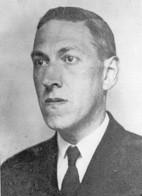 HP Lovecraft The Necronomicon Book Author Stunning Portrait Postcard - Scrittori