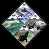 Korea South 2018 Corea / Sea Mammals Seals Dolphins MNH Mamiferos Marinos Säugetiere / Cu14327  4-17 - Unclassified