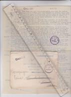 MILITARIA - 60 - COMPIEGNE - FRONSTALAG 122, Courrier Adressé Au Camp De Prisonniers De Royallieu En 1941 Oblit Diverses - Oorlog 1939-45