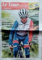 Revue Cyclisme  Le Tour De France 2021 Supplément Le Télégramme Le Tour En Bretagne - Altri